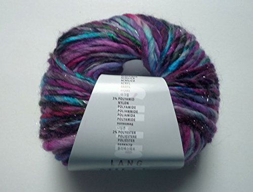 Lang Yarns Mille Colori big luxe lila meliert 90