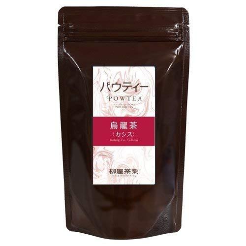 カシス 烏龍茶 80g インスタントティー 粉茶 粉末茶 パウダー茶 パウティー
