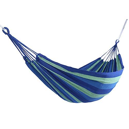 Forbestest Viaggi all'aperto Amaca Hamac Hanging Letto Singolo Sleeping cod Tela Dell'Oscillazione Hammock di Campeggio di Caccia Garden Yard