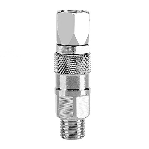 High Pressure Sprayer Swivel, 1/4-Inch Swivel Joint 60 Degree Rotation Rust Free Compact Size for Titan Spray and Hose