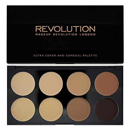 MAKEUP REVOLUTION Ultra Cover & Conceal Palette, 10 g