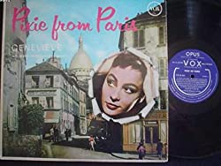 Pixie From Paris: Genevieve with Gianni Monese and Hist Orchestra (Vinyl Lp)