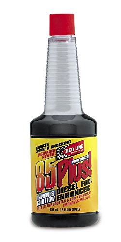 Red Line 70802 85 Plus Diesel Fuel Additive Treatment - 12 Ounce, (Pack of 12)