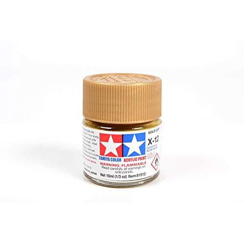 Mini X-12 Gold Leaf 10ml Acrylic
