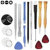HMG 15pcs / Set Kit de Herramientas de reparación for teléfonos móviles
