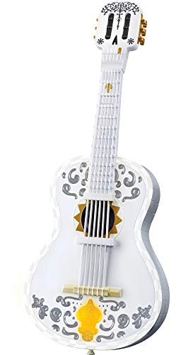 Disney and Pixar Coco Guitar, Playable Musical Toy with Chord Chart, Approx 25-in (63.5-cm) Long for Kids Ages 3 Years Old & Up