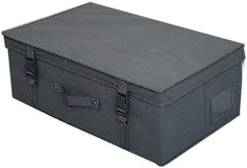 Xicaimen Grey Medium Size Bridal Dress Storage Box Wedding Dress Storage Box Airline Cabin Size Travel Box Under Bed