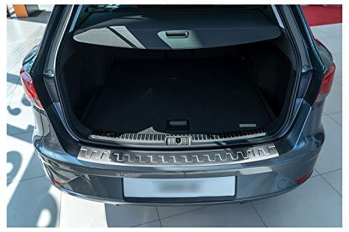 tuning-art BL936 Combi Protección para Parachoques de Acero Inoxidable, Color:Plata
