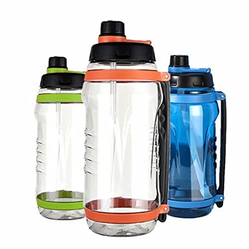 HGTRH Botella De Agua Deportiva con Pajita, Water Bottle Bpa Free Prueba De Fugas Reutilizable Ecológica Apertura con Un Solo Botón para Niños Gimnasio Yoga Bicicletas