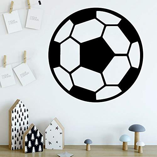 wZUN Pegatinas de Pared de fútbol Lindas Pegatinas de Pared decoración Sala de Estar Dormitorio Pegatinas de Pared extraíbles 30x30 cm