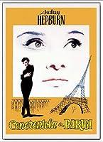 ポスター アーティスト不明 オードリー・ヘプバーン パリの恋人 額装品 アルミ製ベーシックフレーム