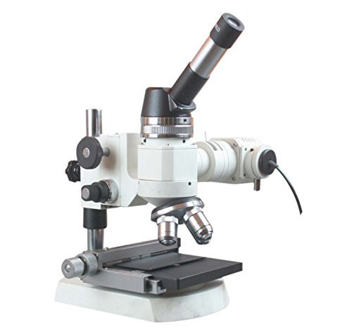 Radical 1200x Metallurgical Top Light Microscope w XY Stage & Geology Polarizing Kit