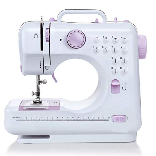 LXQ Sewing Machine Sewing Machine, Multifunctional Portable Selvage Machine, Household Items, Electric Bag Sewing Machine, Suitable for Beginners (Size : UK)