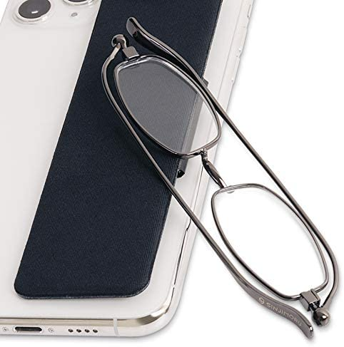 Sinjimoru Folding Reading Glasses in Mobile Phone Wallet Thin Optics Smart Glasses Case for product image