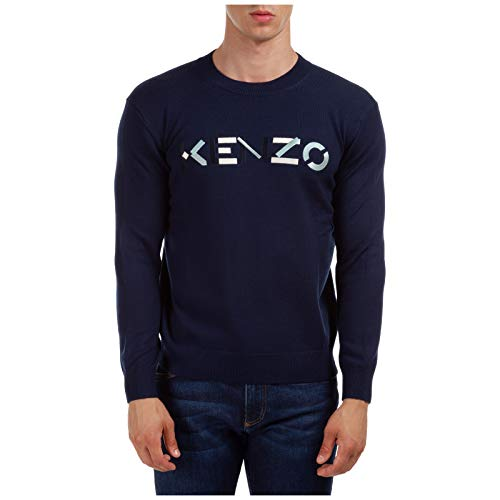 Kenzo Herren Pullover blu L