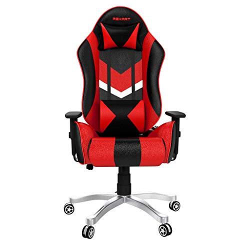 REKART GC01 Steel Chair ( Black, Red)