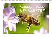 Kleine Freunde im Garten (Wandkalender 2022 DIN A2 quer): Eine liebevolle Sammlung unserer kleinen Gartenbewohner. (Monatskalender, 14 Seiten )