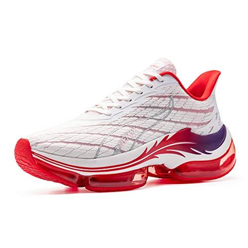 ONEMIX Zapatillas de correr para hombre, transpirables, para exteriores, para correr, caminar, antideslizantes, moda