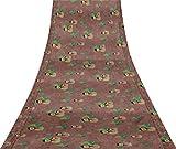 Svasti Schneemann und Baum Weihnachten Vintage Saree