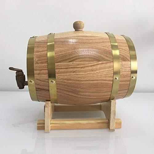 Zhuowei Distributore di Vino, Vino barile Botti di Rovere di Whisky barile per Il Whisky o di Vino, Quercia, Compresi Botti di Rovere, querce, Rovere Quercia da Sughero Hahn,Giallo