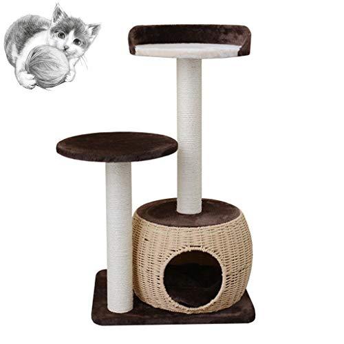 Cat boom spelen torens & bomen kat kauwgom wijnstok weven grote nest kat klimmen frame kat nest kat meubels Sisal kat krabben kat kat speelgebied