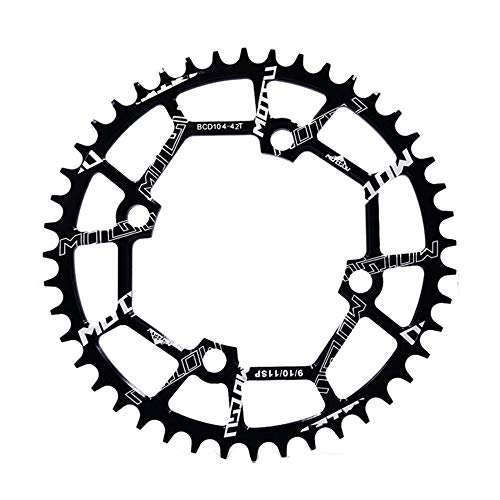 MOTSUV MTB Chainrings 104BCD 40T/42T/46T/48T/50T/52T Bicycle...