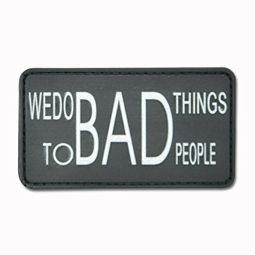 3D-Patch We do bad things to bad people schwarz