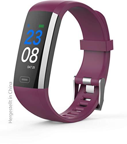 Swisstone SW 600 HR Fitnessarmband (Unisex-Größe) purple