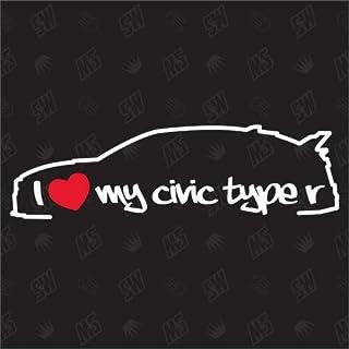 Suchergebnis Auf Für Honda Civic Type R Merchandiseprodukte Auto Motorrad