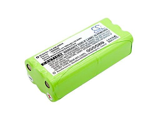 TECHTEK batería sustituye 0606004, R1-L051B Compatible con [Taurus] Aspirateur Striker Mini T270, Striker Mini Aspirador 079710, Striker Parqute Care, [ECOVACS] Dibea K6, Dibea K6L, Dibea L6, Dibea Z