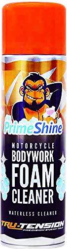 PrimeShine Nettoyant Mousse De Carrosserie Moto 500ml, Tru-Tension Chain Monkey