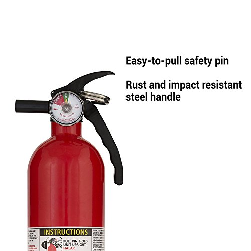Kidde FA110 Multi Purpose Fire Extinguisher 1A10BC, 4-pack