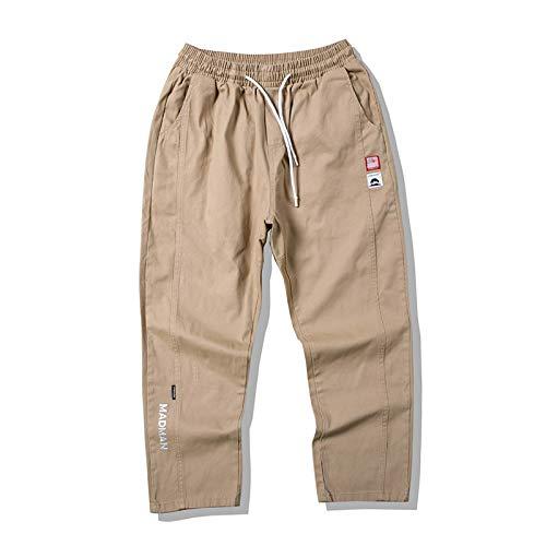 Huntrly Pantalones de chándal con Estampado de Letras para Hombre, Pantalones de Jogging, Pantalones Transpirables para Correr al Aire Libre, Entrenamiento de Gimnasio XXL