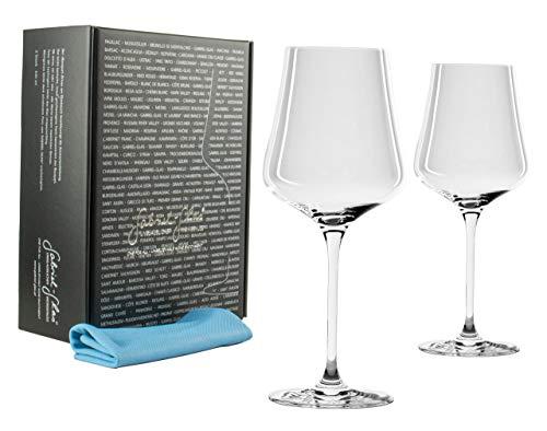 Palatina Werkstatt ® Gabriel-Glas | Standart Edition Juego de 2 copas de vino...