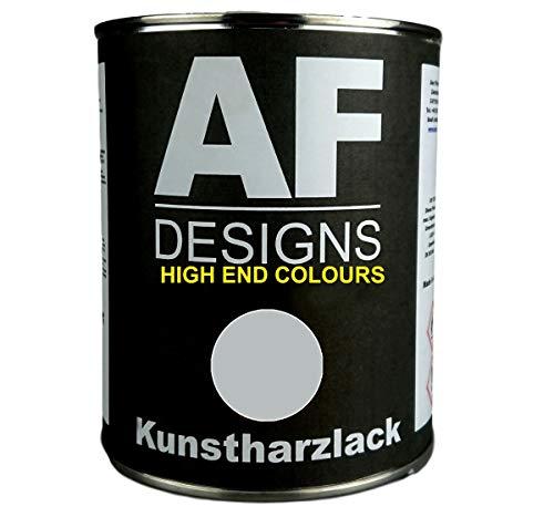 Alex Flittner Designs 1 Liter Kunstharzlack für FENDT FELGENSILBER Maschinen LKW NFZ Lack Landmaschine Baumaschine
