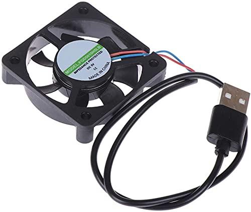 MAZ Ventilador 5V Conector Usb Pc Ventilador Refrigerador Radiador Escape Cpu