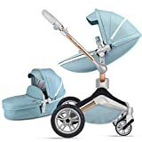 Product Image of the Baby Stroller 360 Rotation Function,Hot Mom Baby Carriage Pushchair Pram...