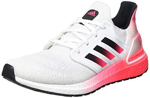 adidas ULTRABOOST 20, Men's Sneaker, Ftw Bla/Negbás/Rossen, 6 UK (39 1/3 EU)