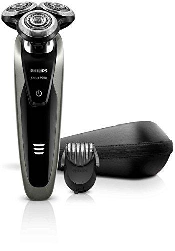 Philips S9161/42 - Rasoio elettrico Serie 9000 con regolabarba