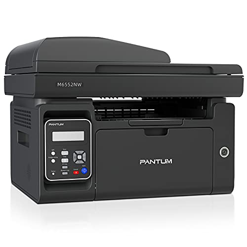 PANTUM Stampante Laser Multifunzione Monocromatica M6550NW, Stampa, Scannerizza, Fotocopia, Wi-Fi, Wi-Fi Direct, ADF (Nero)