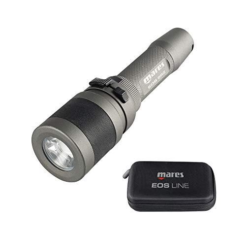 Mares EOS 5rz - Linterna eléctrica Unisex - Adulto, Negro, Talla única