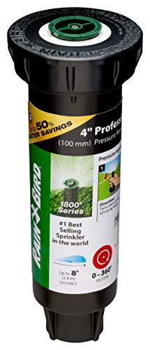 Rain Bird 1804AP8PRS Pressure Regulating Professional PRS pop-up Sprinkler, Black