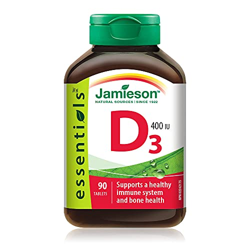 Jamieson 10976 Vitamina D 400, 90 Unità