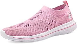 Women's Slip-On Sneakers Mesh Loafer Casual Beach Street...