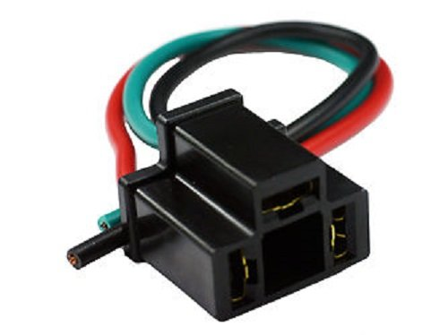 Socket Pigtail for 3-Prong Automotive Relays/Flashers