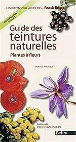 Guide des teintures naturelles de Marie Marquet