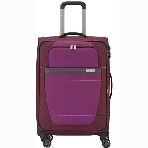"Travelite Valise trolley ""Meteor"" avec 2 roues Taille M rouge Maleta, 63 cm, 80 liters, Rojo (Rouge)"