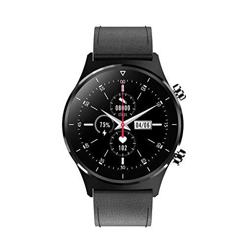 GMZS Reloj Inteligente, Dial Personalizado / IP68 Impermeable/Bluetooth Recordatorio De Llamadas Negocio Reloj Inteligente, Correa Opcional,B1