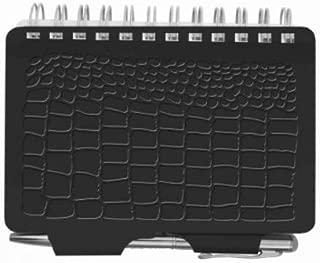 Wellspring Password Book, Croc Black (Password Book-Croc)