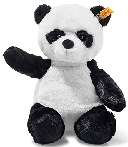 Steiff 75773 Panda, weiß/schwarz, 28 cm